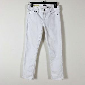 J Crew - White Straight & Narrow Jeans Size 27/S